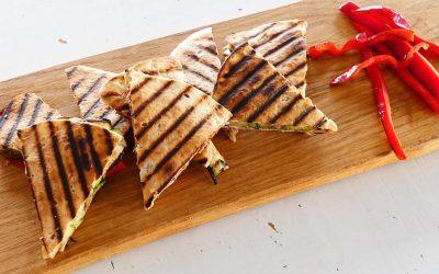 Tonijn quesadilla's