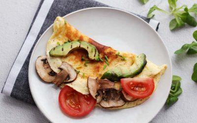 Omelet wraps