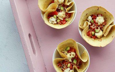 Mexicaanse tortilla met bonen