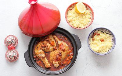 Kip tajine met couscous