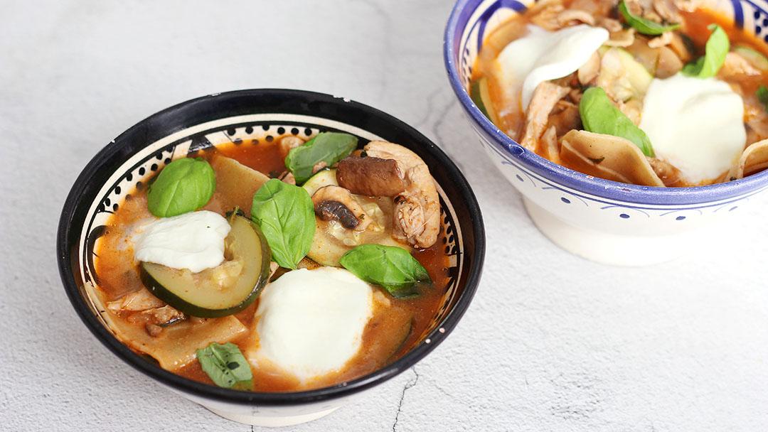 2. Lasagne soep