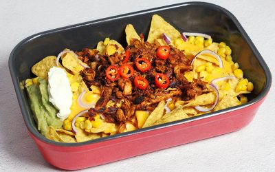 Nacho's pulled chicken