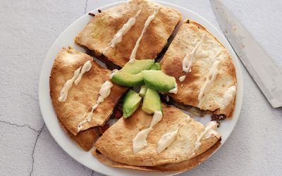 Gehakt quesadilla's