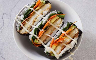 Sushi sandwich kip