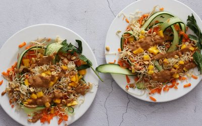 Thaise salade met mango