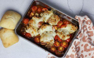 Kipfilet tomaat-mozzarella