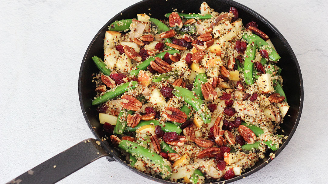 Herfstachtige quinoa salade