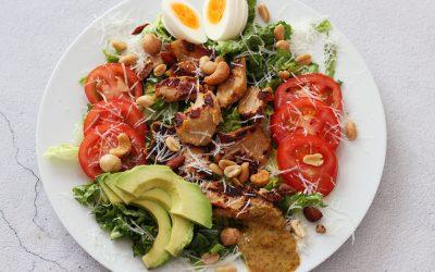 Vega caesar salad