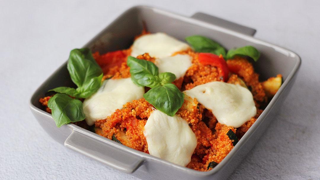 Italiaanse couscous schotel